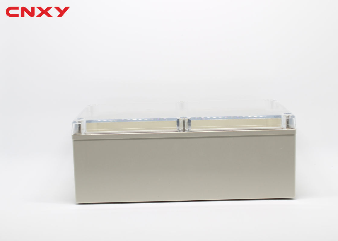 Waterproof IP65 ABS electric project box plastic junction box clear waterproof enclosure 240*160*90 mm