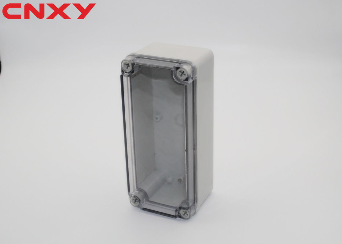 IP67 clear electronic enclosure plastic box waterproof junction box outdoor electrical junction box 180*80*70mm